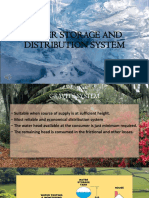 Water Storage and Distribution System