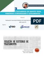 Tratamento Primxrio de Efluentes - Gisele - Cefet 2015