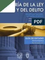 Teoria Ley Penal Delito 2 Semestre
