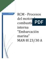 Procesos Del Motor de Combustión Interna