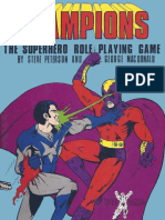Champions - Rulebook (1st Edition)
