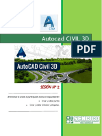 CLASE 2 CIVIL3D - SENCICO CAJAMARCA