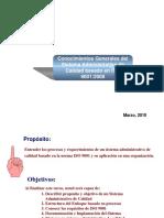 Conocimientos Grales ISO 9001