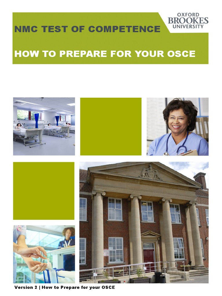 How to prepare for your OSCE V3 pdf | Midwife | Nursing