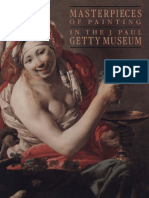 Masterpieces of Painting in the J. Paul Getty Museum (Second Edition)