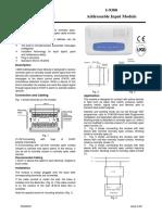 I-9300 Addressable Input Module Issue 3.09