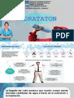 Rotafolio Hidratacion en El Trabajo