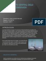 presentacion de proyecto de central electrica