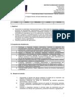 Syllabus Cálculo Diferencial 2015-2016