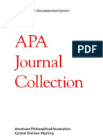 APA Journal Collection