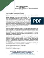 2.- Derecho Procesal - Derecho Procesal Orgánico (Segunda Parte) (3).pdf