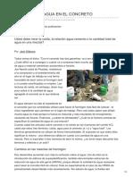 Clubedoconcreto.com.Br-MEDINDO ÁGUA NO CONCRETO