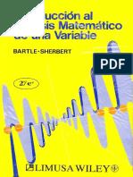 Introducción al análisis matemático de una variable - ROBER G. BARLE.pdf