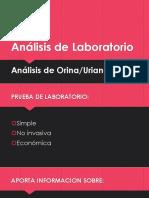 Análisis de Laboratorio URIANALISIS
