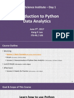 20170605 Dsi - Intro to Python Data Analytics Kpl