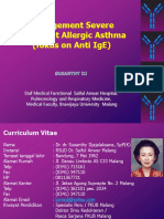Management Severe Persistent Allergic Asthma PDF