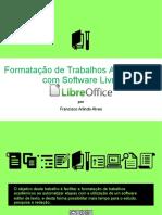 formatação de trabalhos academicos com software livre libreoffice