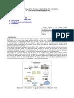 Estudios de Simulacion de Aguas Residuales Con Colorantes y Sus Caracterización Electroquimica