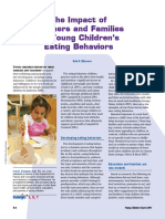 The Impact of Teachers and Families on Young Children Eating Behavior