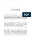 Carta de Bernardo Namuncurá