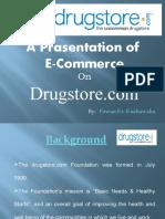 E-commerce Presentation on Drug Store