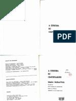 Maurice Merleau-Ponty - A Estrutura Do Comportamento