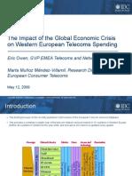 IDC Impact of the Global Economic Crisis