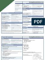 Drupal6 API Cheatsheet 0