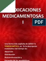 Intoxicaciones Medicamentosas i - II