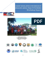 Two Samoas Reef Resilience Workshop Report_FINAL