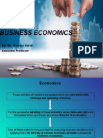 Business Economics Meaning, Definitions Etc