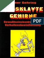 Heiner Gehring - Versklavte Gehirne (2001)