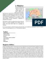 Cautividad de Nínive - Wikipedia, La Enciclopedia Libre