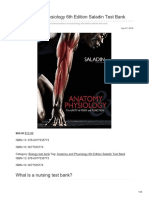 Nursingtestbanks.org-Anatomy and Physiology 6th Edition Saladin Test Bank