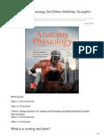 Nursingtestbanks.org-Anatomy and Physiology 2nd Edition McKinley OLoughlin Bidle Test Bank
