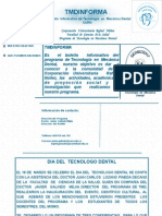 Boletin Informativo TMD-