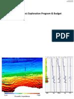 PBEv May 2018 Week 9 Prospect Exploration Program Budget