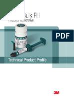 aplikasi bahan bulk fill