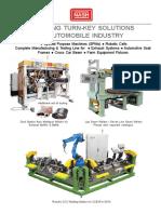 SPMs and Robotic CO2 Welding Fixtures & BIW Fixtures
