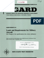 Loads and Requirements for Military-AGARD