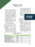 GURPS 4e - fan - Magical Items.pdf