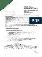 Exámen Geografía Fisica y Humana 2003