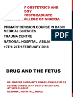 DRUG AND THE FETUS  DR. DUROJAIYE.pptx