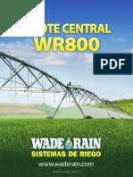Pivote Central WR800 Wade Rain
