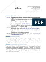 Shelas Sathyan CV