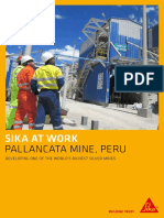 SAW Pallancata Mine Peru