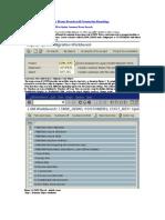 Uploading Customer Master Data Using Recording Method