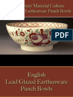 Drinking - Punch Bowls - Earthenware - Lead Glazed