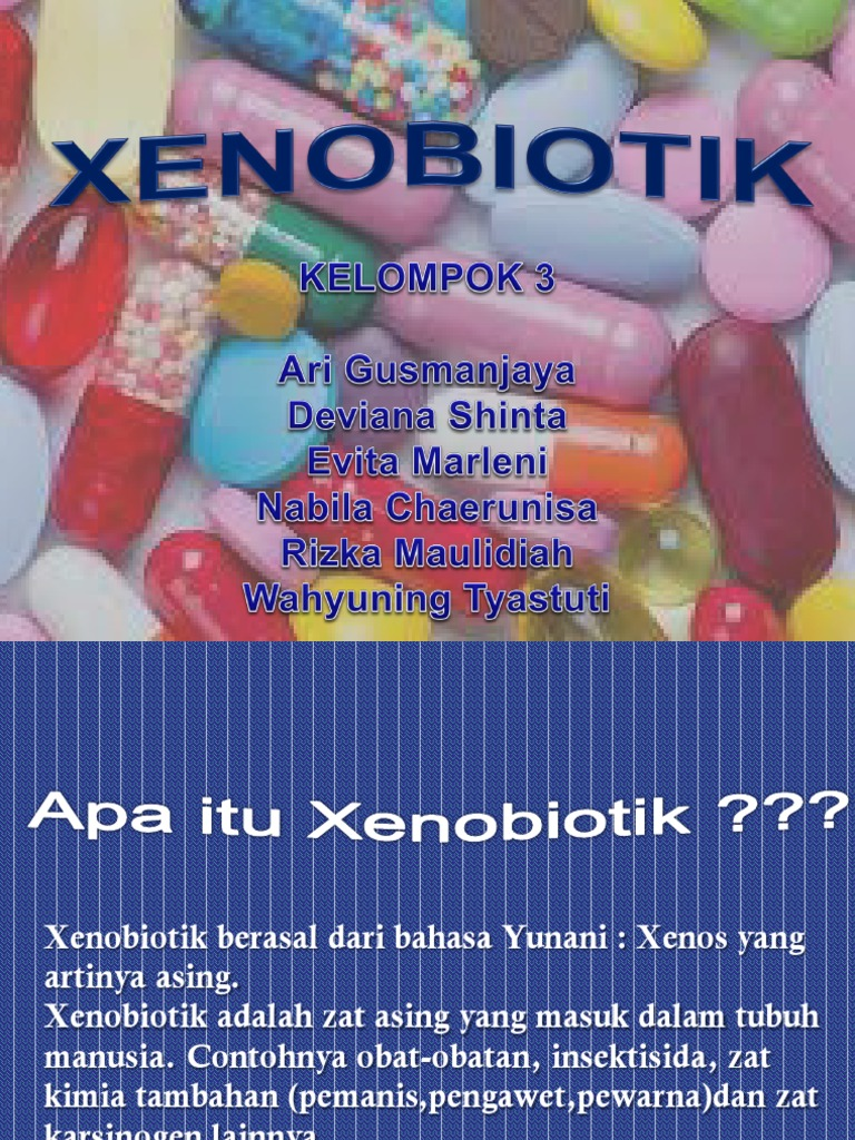 Xenobiotik Ppt