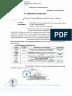 Directiva 019 2018 Ugel 15 Fencyt